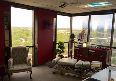 Cain Chiro & Rehab Treatment Room Denver CO