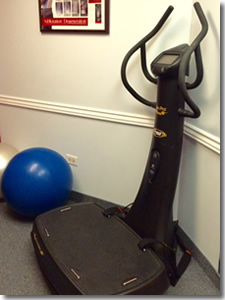 whole body vibration at Cain Chiropractic Denver